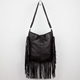 Fringe Hobo Bag