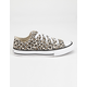 CONVERSE Chuck Taylor All Star Leopard Print Low Top Girls Shoes
