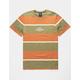 HUF Mazon Stripe Olive Mens T-Shirt