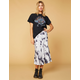 WEST OF MELROSE Out Of Office Tie Dye Skirt