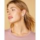 WEST OF MELROSE Geometric Chain Drop Earrings