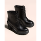 MADDEN GIRL Lace Up Lug Boot