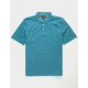 VOLCOM Wowzer Atlantic Blue Boys Polo Shirt