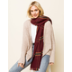WEST OF MELROSE Plaid Scarf