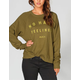 RVCA No Hard Feelings Womens Sweatshirt