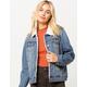 JADE & IVORY Sherpa Womens Denim Jacket