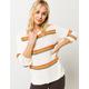 SISSTREVOLUTION Loop Me In Vintage White Womens Sweater
