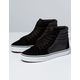 VANS Suiting Sk8-Hi Black & True White Shoes