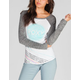 ROXY Mountain Wave Womens Baseball Tee