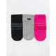 ADIDAS Stacked Forum 3 Pack Womens No Show Socks