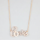 FULL TILT Rhinestone Love Necklace