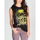 YOUNG & RECKLESS City Rocker Womens Muscle Tee