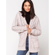 WOVEN HEART Chenille Cable Cream Womens Cardigan
