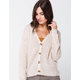 FULL TILT Essential Oatmeal Womens Cardigan