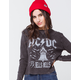 THE VINYL ICONS ACDC Womens Thermal Tee