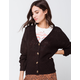 FULL TILT Essential Black Womens Cardigan