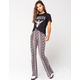 IVY & MAIN Floral Flare Womens Pants