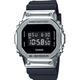 G-SHOCK Digital GM5600-1 Black & Silver Watch