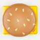 TODDLAND Cheeseburger Wallet