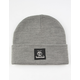 TIMBERLAND Short Watch Cap Gray Mens Beanie
