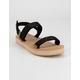 REEF Voyage Lite Seas Black Womens Sandals