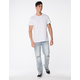 RSQ New York Slim Straight Mens Faded Destroyed Jeans