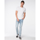RSQ Seattle Extreme Destroyed Mens Skinny Taper Jeans
