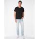 RSQ London Skinny Vintage Flex Mens Light Bleach Jeans