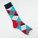 HAPPY SOCKS Mixed Print Mens Crew Socks