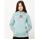 THE NORTH FACE Red's Green Womens Hoodie