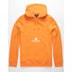 HUF Peak 3.0 Orange Mens Hoodie