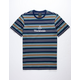 HUF Dillon Stripe Mens T-Shirt