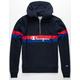 CHAMPION Yarn Dye Half Zip Mens Sweatshirt