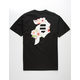 PRIMITIVE Dirty P Cherry Blossom Black Mens T-Shirt