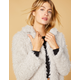 WEST OF MELROSE Are You Fur Real Womens Jacket