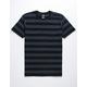 BILLABONG Die Cut Stripe Black Boys T-Shirt