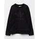 ADIDAS Originals Debossed Crew Girls Sweatshirt