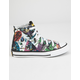 CONVERSE Chuck Taylor All Star Batman White & Black Boys High Top Shoes