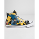 CONVERSE Chuck Taylor All Star Batman White & Lemon Chrome High Top Shoes