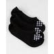 VANS 3 Pairs Canoodle Super No Show Black & White Girls Socks