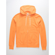 INDEPENDENT TRADING COMPANY Tangerine Mens Zip Hoodie