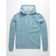 INDEPENDENT TRADING COMPANY Dusty Blue Mens Zip Hoodie