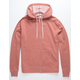 INDEPENDENT TRADING COMPANY Dusty Pink Mens Zip Hoodie