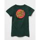 SANTA CRUZ Other Dot Green Girls Tee