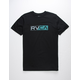 RVCA Lateral Black Mens T-Shirt