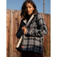 DICKIES Sherpa Lined Plaid Jacket
