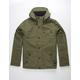 HURLEY Slammer Olive Mens Hooded Jacket