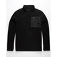 SALTY CREW Northern Quarter Zip Mens Polar Fleece Jacket