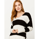 LIRA Emille Stripe Womens Sweater
