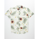 SALTY CREW Macro Tropics Off White Boys Shirt